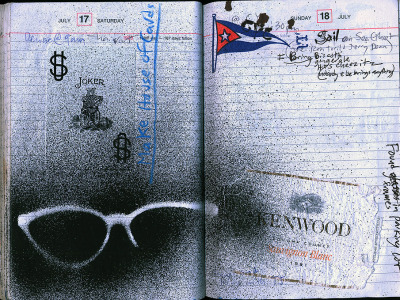 Sunglasses, Diary entry